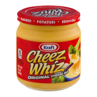 Kraft Cheese Whiz Original Cheese Dip 15oz Jar product image