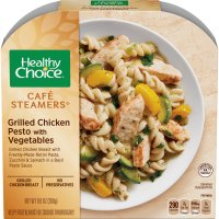Healthy Choice Cafe Steamers Grilled Chicken Pesto with Vegetables 9.9oz PKG product image