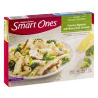 Weight Watchers Smart Ones Creamy Rigatoni with Broccoli & Chicken 9oz PKG product image