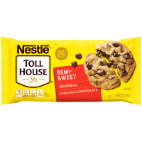 Nestle Toll House Semi-Sweet Chocolate Chips 12oz Bag product image
