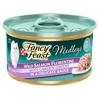 Fancy Feast Elegant Medleys Wild Salmon Florentine with Garden Greens 1CT 3oz product image