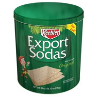 Keebler Export Sodas Original Soda Crackers 28oz Tin product image