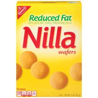 Nabisco Nilla Wafers Reduced Fat 11oz Box product image