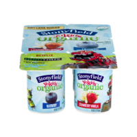 Stonyfield YoKids Blueberry & Strawberry Vanilla 4oz EA 6PK product image