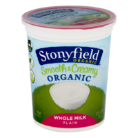 Stonyfield Farm Organic Yogurt Whole Milk Plain 32oz Tub product image