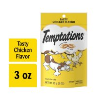 Whiskas Temptations Cat Treats Tasty Chicken 3oz Bag product image
