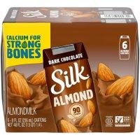 Silk Dark Chocolate Almondmilk 6PK 8oz EA product image