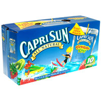 Capri Sun Beverage Strawberry Kiwi 10CT of 6.75oz EA product image