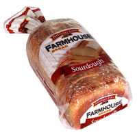 Pepperidge Farm Soft Farmhouse Bread Sourdough 24oz PKG product image