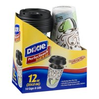 Dixie Grab N Go Cups With Lids 14CT 12oz Each product image