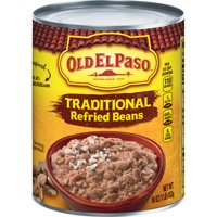 Old El Paso Refried Beans Traditional 16oz Can product image