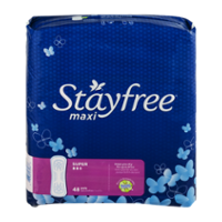 Stayfree Maxi Super Protection 48CT product image
