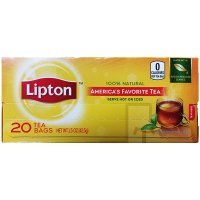 Lipton Tea Bags 100% Natural 20CT product image