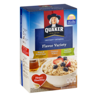 Quaker Instant Oatmeal Flavor Variety Pack 10PK 15.1oz Box product image