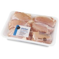 Store Brand Chicken Thighs Skinless Bone In 4-6CT Approx 2LBS product image