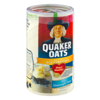 Quaker Old Fashioned Oats 18oz Can product image