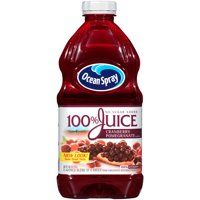 Ocean Spray 100% Juice No Sugar Added Cranberry Pomegranate 60oz BTL product image