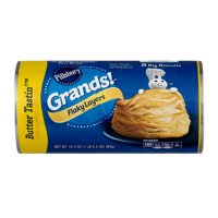 Pillsbury Grands Biscuits Flaky Butter Tastin' 8CT 16.3oz PKG product image