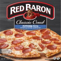 Red Baron Classic Pepperoni Pizza 20.6oz Box product image