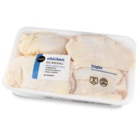 Store Brand Chicken Thighs Skin On-Bone In 4-6CT Approx. 2LB product image