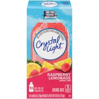 Crystal Light On The Go Packets Raspberry Lemonade 10CT PKG product image
