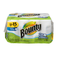 Bounty Big Roll Paper Towels Select-A-Size White 12CT PKG product image