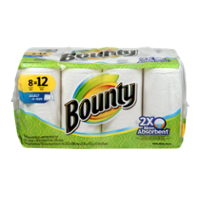 Bounty Giant Roll Select-A-Size White 2-Ply 8CT product image