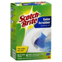 Scotch-Brite Disposable Toilet Scrubbers Kit 1ct product image