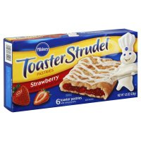 Pillsbury Toaster Strudel Strawberry 6CT 11.5oz Box product image