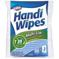 Clorox Handi-Wipes Reusable Cloths 6CT product image