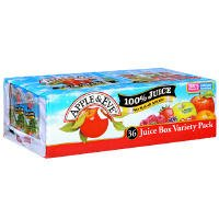 Apple & Eve 100% Juice Box Variety Pack 6.75oz EA 36CT product image