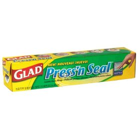 Glad Press N Seal Sealable Plastic Wrap w Griptex 70SQ FT product image