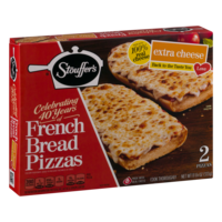 Stouffer's French Bread Pizza Extra Cheese 2CT 11.75oz Box product image