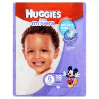 Huggies Little Movers Diapers Size 6 (Over 35LB) 16CT PKG product image