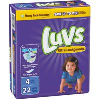 Luvs Diapers Size 4 (22-37LB) Jumbo Pack 22CT PKG product image