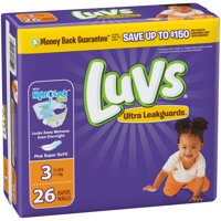 Luvs Diapers Size 3 (16-28LB) Jumbo Pack 26CT PKG product image