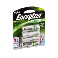 Energizer  Rechargable Batteries Size AA 4CT product image