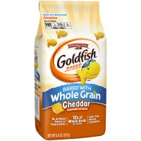 Pepperidge Farm Goldfish Whole Grain Cheddar 6.6oz Bag product image