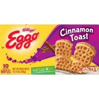 Eggo Waffles Cinnamon Toast 10 Sets of 4-10.75oz Box product image