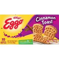 Eggo Waffles Cinnamon Toast 10 Sets of 4-10.75oz Box product image