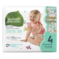 Seventh Generation Diapers Size 4 (22-37LB) 27CT PKG product image
