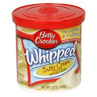 General Mills Betty Crocker Whipped Cake Frosting Butter Cream 12oz Can product image