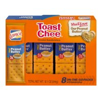 Lance Peanut Butter Toast Chee Crackers 8CT 12.1oz PKG product image