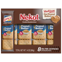 Lance Peanut Butter Nekot Cookies 8CT 14oz product image