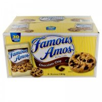 Famous Amos Chocolate Chip Cookies 36CT 2oz EA 60oz Box product image