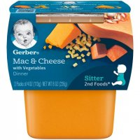 Gerber 2nd Foods Mac & Cheese with Vegetables Dinner 4oz 2PK product image