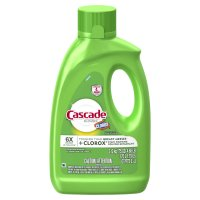 Cascade Auto Dish Detergent Gel Lemon with Clorox 75oz. BTL product image