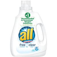 All Liquid Detergent Free Clear 2x Concentrate 94.5oz BTL product image
