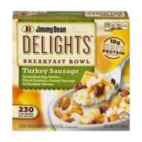 Jimmy Dean Delights Breakfast Bowl Turkey Sausage 7oz PKG product image