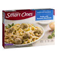 Weight Watchers Smart Ones Pasta with Swedish Meatballs 9oz PKG product image